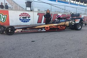 Carleigh Garceau was one of the winners from this past weekend's pair of LVMS Jr. Dragsters events at The Strip.