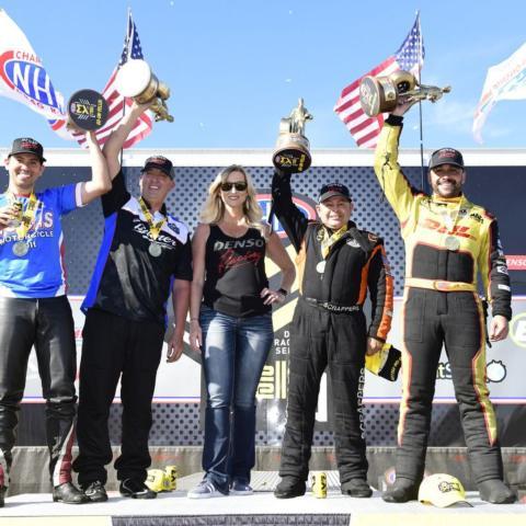 Todd, Salinas, Butner, Arana Jr  win titles at DENSO Spark